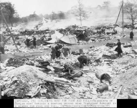 The regime of german re education denazification after for How many homes were destroyed in germany in ww2